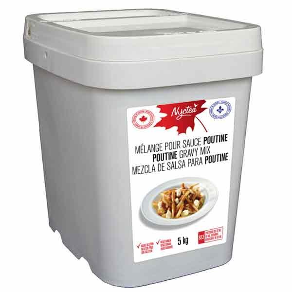 Nyctea Mélange pour sauce poutine 5 kg